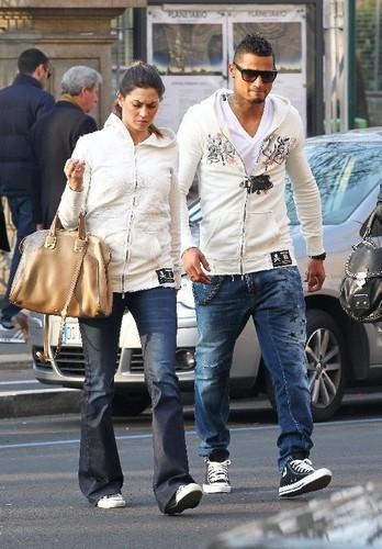 Boateng & Melissa Satta
