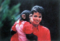 Bubbles Jackson and Michael Jackson - michael-jackson photo