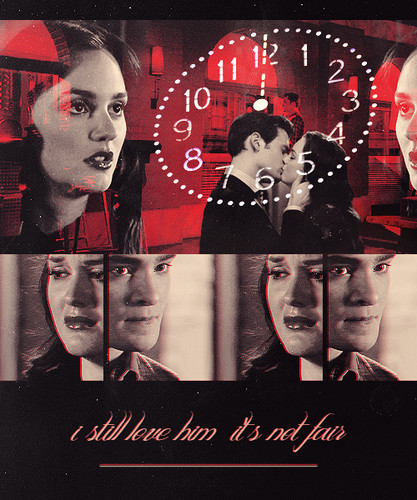 Blair & Chuck wallpaper possibly containing a sign, a newspaper, and anime called Chuck & Blair