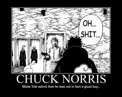 Naruto wallpaper possibly with a street, a newspaper, and anime titled Chuck Norris
