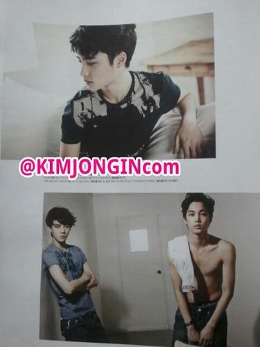 D.O., Se hun & Kai @ High Cut Scan