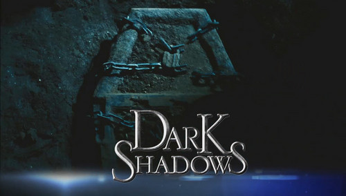 Tim Burton's Dark Shadows wallpaper possibly containing a sign called Dark Shadows teaser