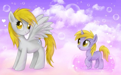 Derpy and Dinky