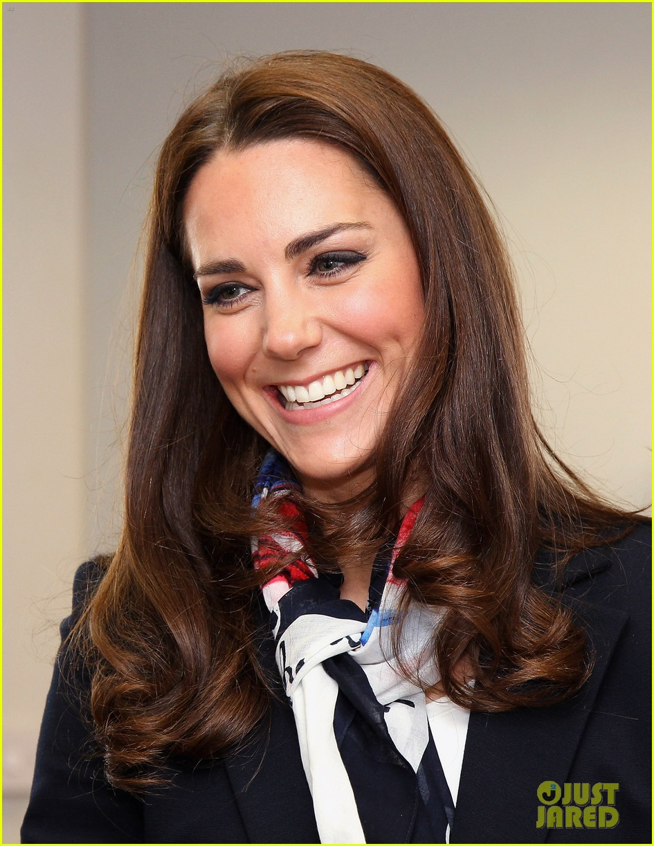 Duchess Kate Plays Field Hockey with Olympic Team