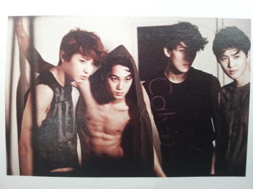 EXO-K @ High Cut Scan