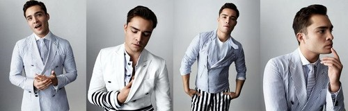 Ed Westwick photoshoot oleh Alex Cayley for GQ Style Germany