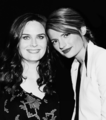 Emily & Stana Katic ;) - emily-deschanel photo