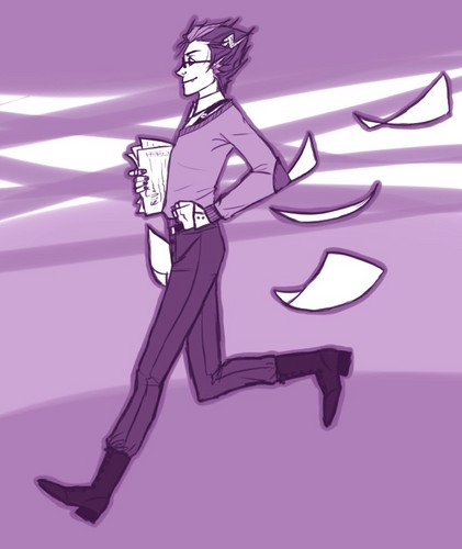 Eridan Ampora wallpaper possibly with anime titled Eridan Ampora