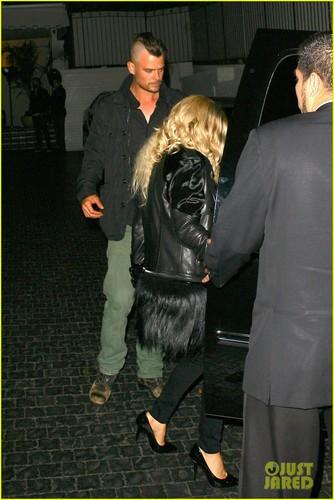 Fergie & Josh Duhamel: chateau Marmont Mates