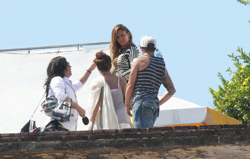 Filming A musik Video In Acapulco [11 March 2012]