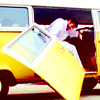 Little Miss Sunshine Foto possibly with a tailgate, a minicar, and an automobile entitled Frank