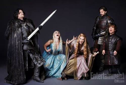 Game of Thrones Cast- EW picha