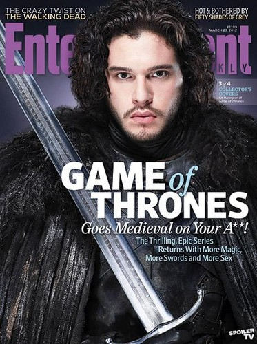 Game of Thrones- EW Cover