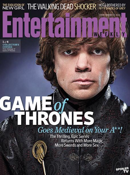 Entertainment Weekly Game of Thrones Arya Stark Summer TV Preview June 2/9, 2017