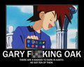 Gary Fucking Oak. - anime screencap