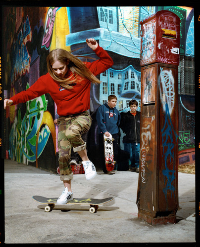 Gavin Bond photoshoot for Seventeen - 2002