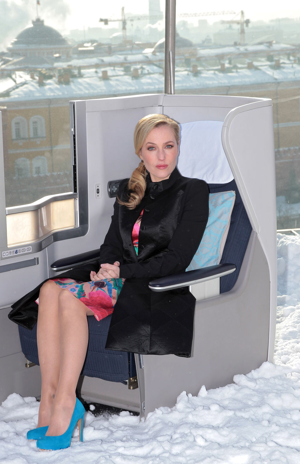 Gillian Anderson, Moscow 2012