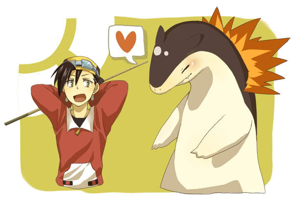 Gold and Typhlosion ^_^