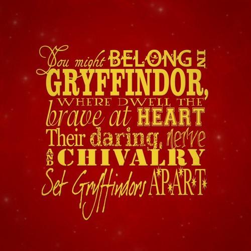 Gryffindor <3