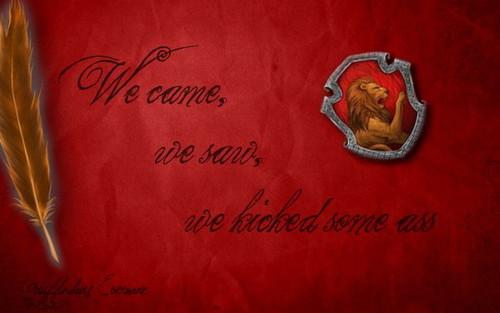 Gryffindor. <3