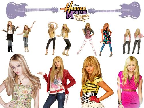 Hannah Montana wallpaper titled Hannah Montana Season 1,2,3,4