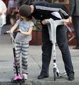Hugh Jackman runs, plays in a NY park with daughter Ava, - hugh-jackman photo