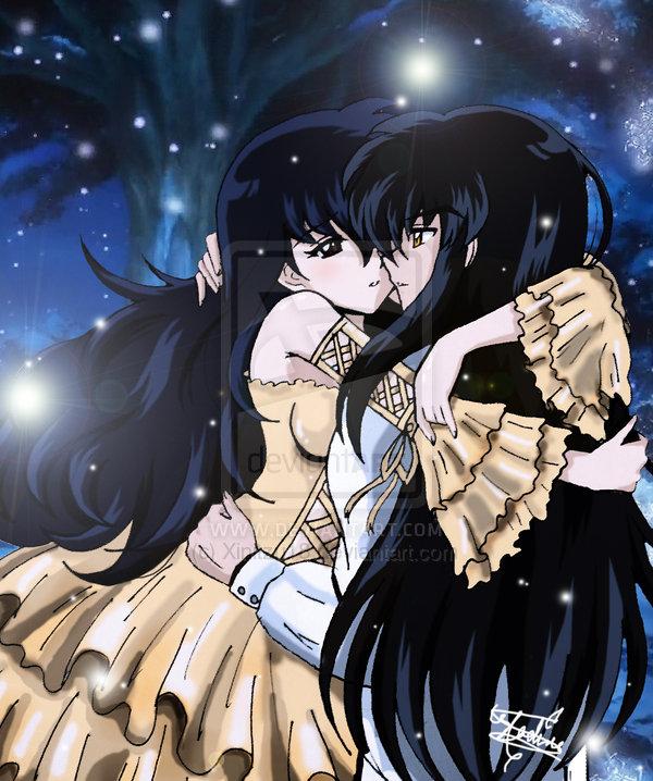 Inuyasha And Ranma 1 2 Immagini Inuyasha And Kagome Forever Love