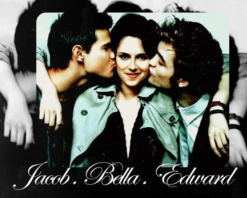Jacob,Bella & Edward