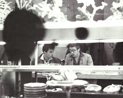 James Dean and Martin Landau
