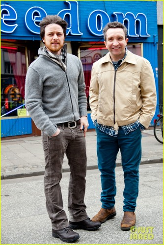 James McAvoy: In Germany for 'Filth'