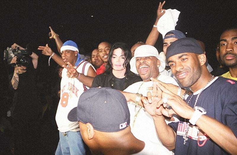 Jay-Z and Michael Jackson - michael-jackson photo