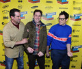 Johnny Knoxville, with Rob Riggle & Todd Rohal @ the SXSW Premiere of 'Nature Calls' - johnny-knoxville photo