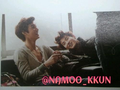 Kai & Su ho @ High Cut Scan