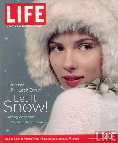 LIFE Magazine: Scarlett Johansson Cover (December 2005)