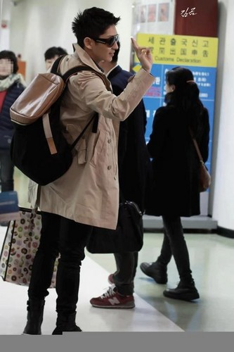 Lee Jun Ki in Airport