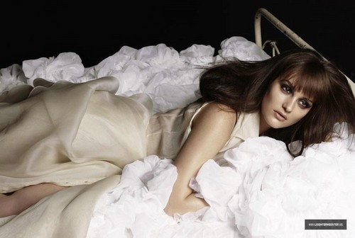 Leighton Meester for Marieclaire / 2012