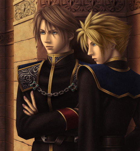 Final Fantasy Cloud Strife Wallpaper: Strifehart Images Leon(Squall)xCloud Wallpaper And