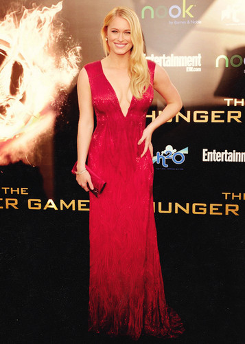Leven at Hunger Games Premiere in LA