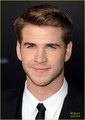 Liam Hemsworth &amp; Miley Cyrus: 'The Hunger Games' Premiere Pair - liam-hemsworth photo