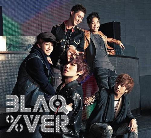 MBLAQ BLAQ% Ver. album जैकेट