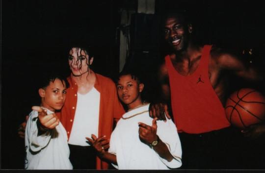 Michael Jackson and Michael Jordan - michael-jackson photo