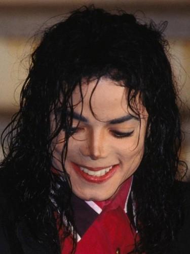 Michael's shy, adorable smile!