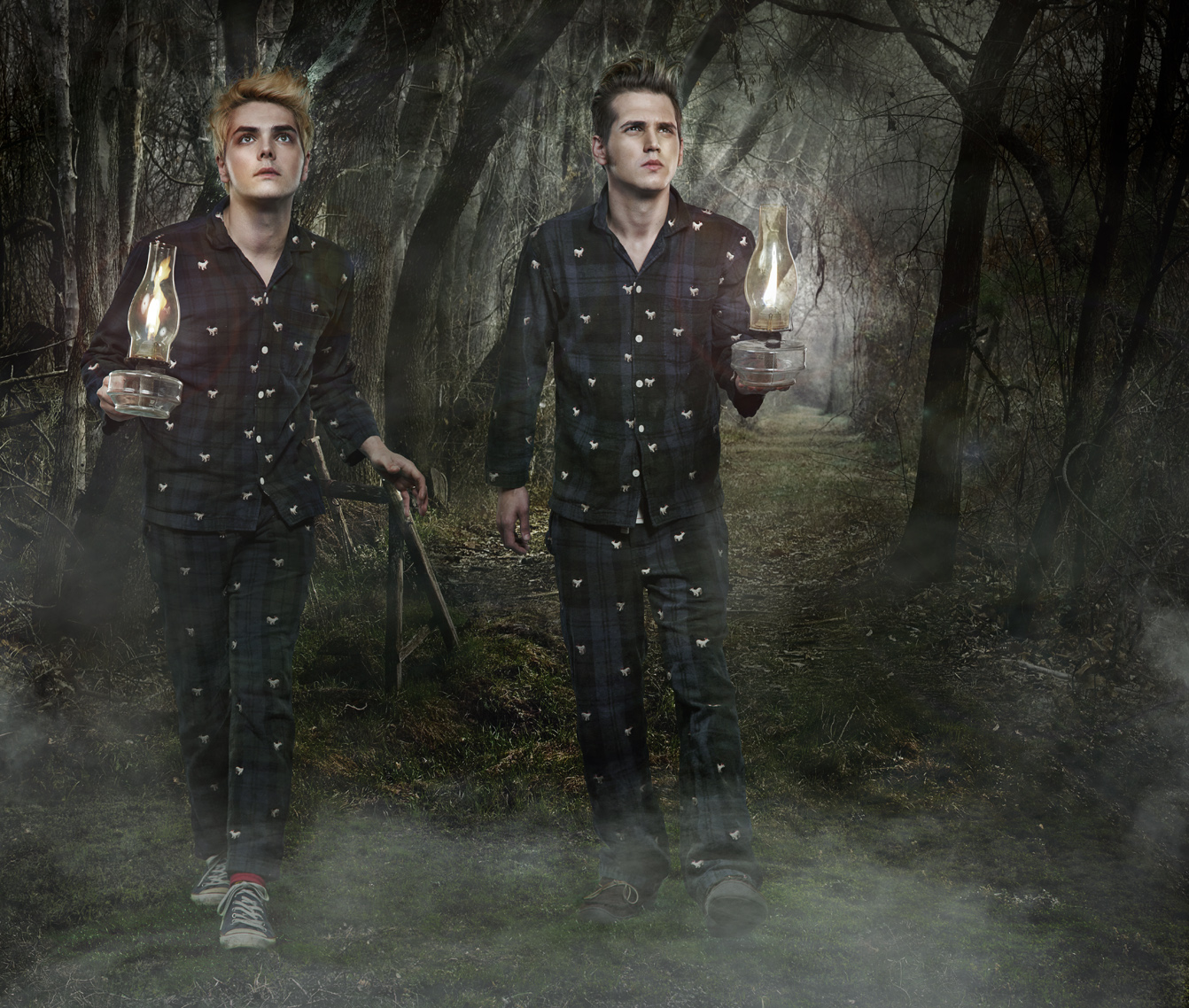 Mikey Way And Gerard Way Brothers - ma