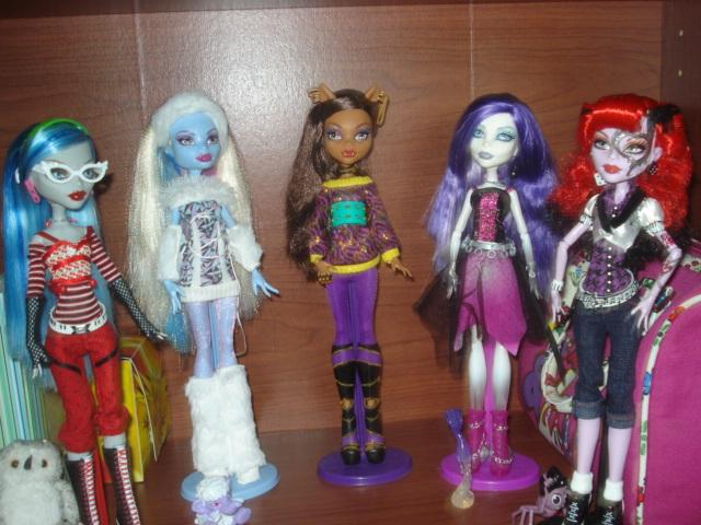 My Monster High Doll Collection.