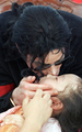 My sweet angel ♥ - michael-jackson photo