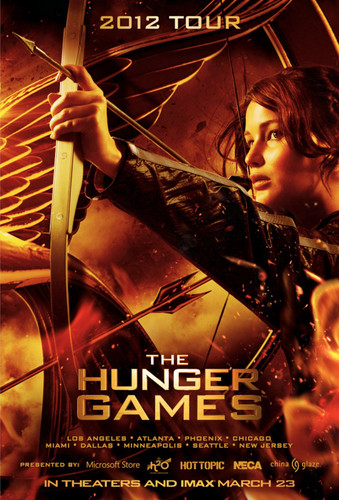 New Hunger games HQ poster