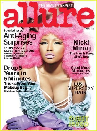 Nicki Minaj Covers 'Allure' April 2012