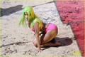 Nicki Minaj: Pink Bikini for 'Starships' Video! - nicki-minaj photo
