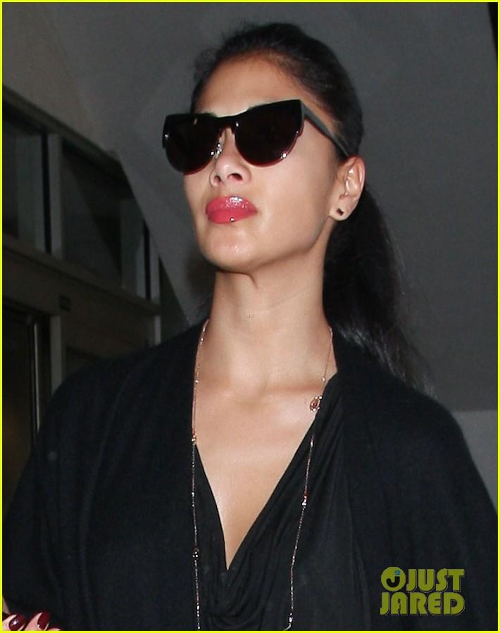 Nicole Scherzinger: Low Key At LAX