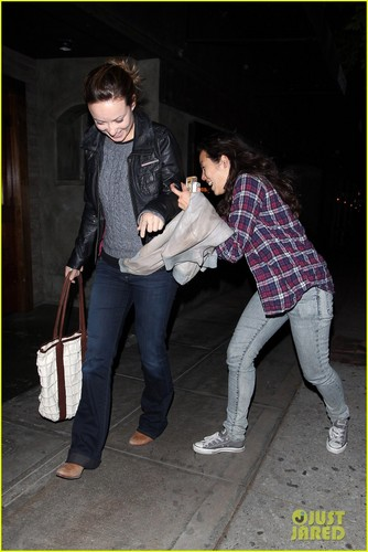 Olivia Wilde & Jason Sudeikis: New Relationship Comedy - olivia-wilde Photo